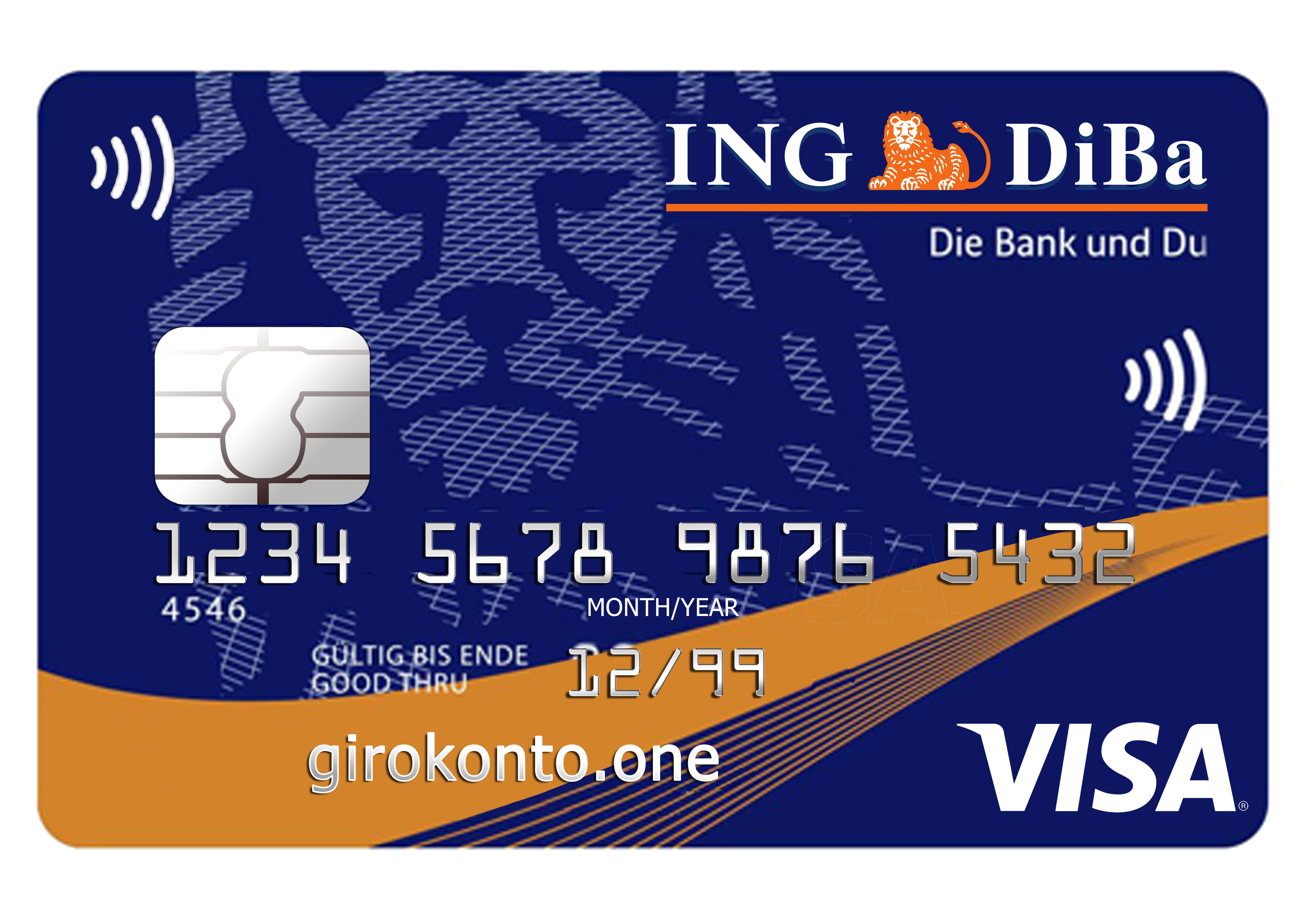 ing diba geldautomaten girocard