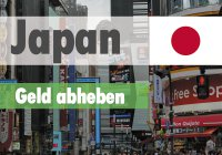 Geld abheben in Japan