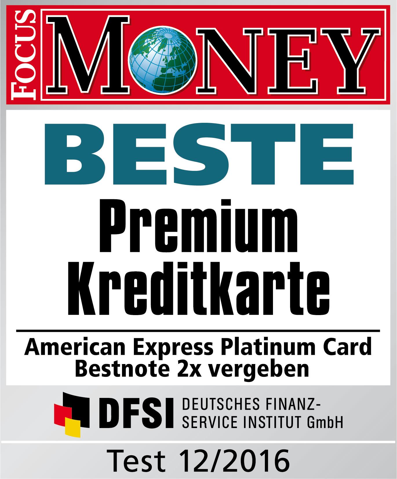 Focus Money Kreditkarten