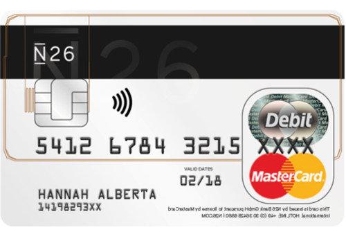 N26 / NUMBER26 Test : Erfahrung Girokonto mit Mastercard