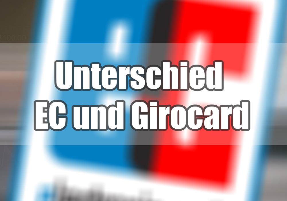 Unterschied Visa Und Girocard